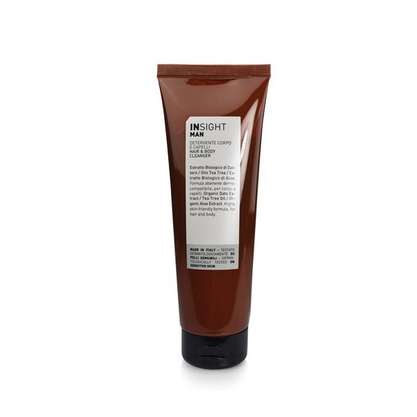 ДУШ ГЕЛ ЗА КОСА И ТЯЛО INSIGHT Hair & Body Cleanser 250ML
