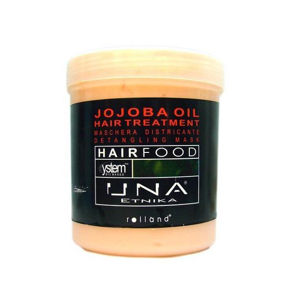 МАСКА С МАСЛО ОТ ЖОЖОБА ЗА СУХИ КОСИ ROLLAND UNA Hair Food Treatmend 1000ml