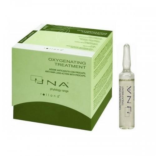 АМПУЛИ ЗА АКТИВНА ГРИЖА ПРОТИВ КОСОПАД Rolland Una Oxygenating Treatment 12х10 ml