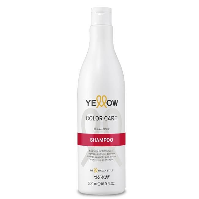 ШАМПОАН ЗА БОЯДИСАНА КОСА С ГОДЖИ БЕРИ Alfaparf YELLOW  Color Care Shampoo 500ml