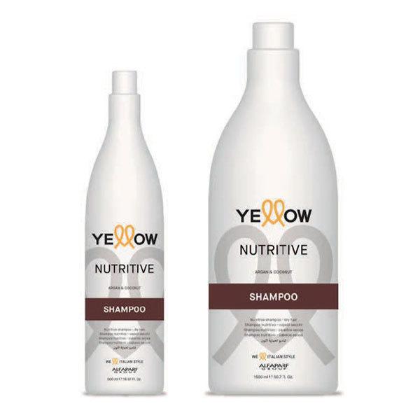 ШАМПОАН С АРГАН И КОКОС Alfaparf YELLOW Nutritive Shampoo 500ML