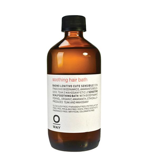 УСПОКОЯВАЩ ШАМПОАН ЗА ЧУВСТВИТЕЛЕН СКАЛП OWAY Soothing hair bath 950ML
