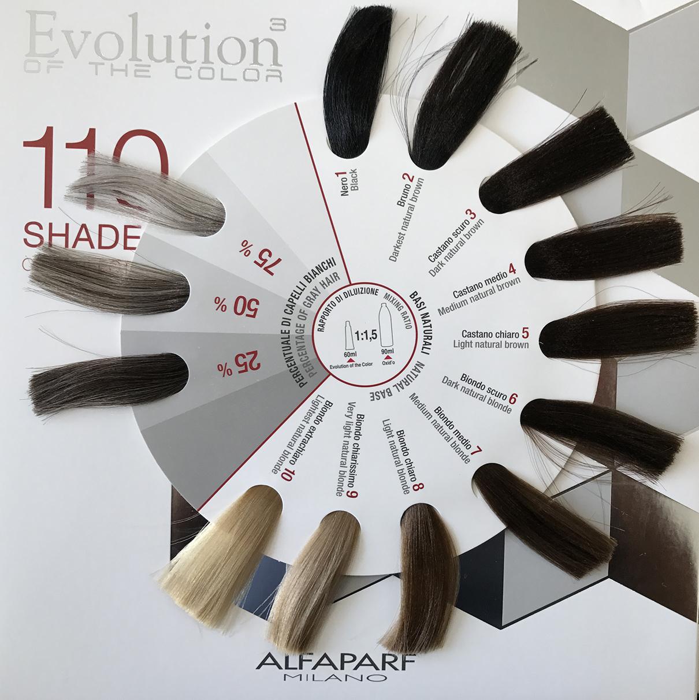 БОЯ ЗА КОСА С ХИАЛУРОНОВА КИСЕЛИНА ALFAPARF Evolution of the color 60ML