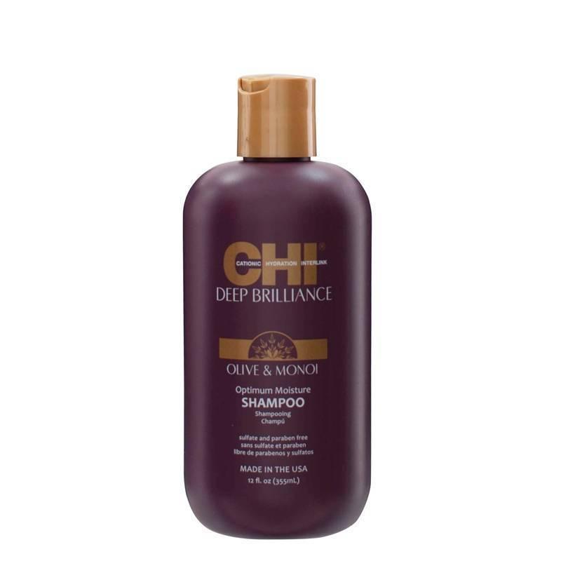 ДЪЛБОКО ХИДРАТИРАЩ ШАМПОАН CHI Deep Brilliance Optimum Moisture Shampoo 355ml