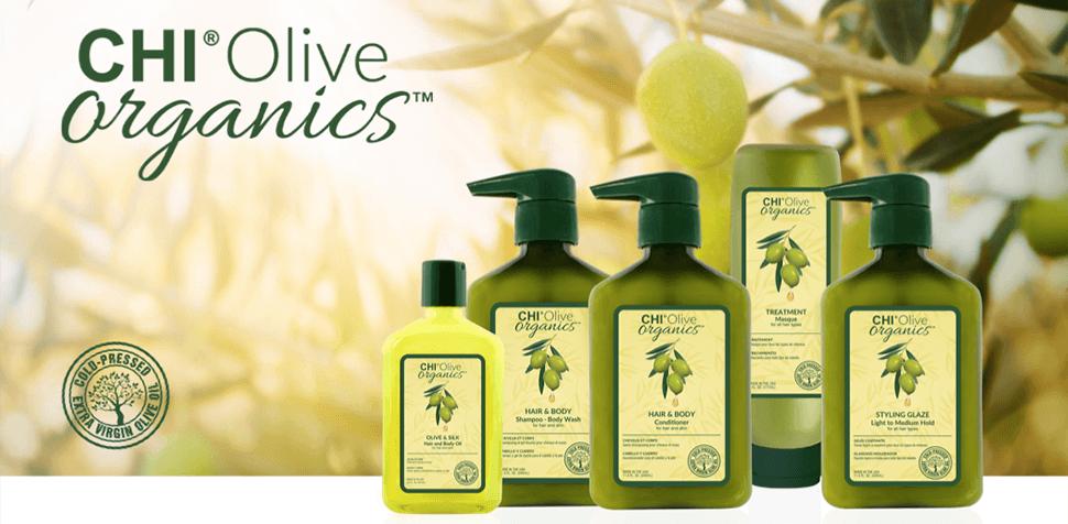 ТЕРМОЗАЩИТЕН СТИЛИЗИРАЩ КРЕМ CHI Olive Organics Styling Glaze 340ml