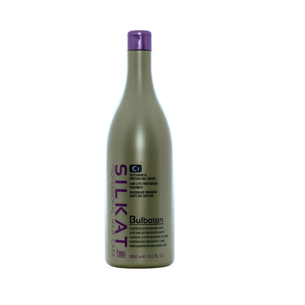 АКТИВЕН ШАМПОАН ПРОТИВ КОСОПАД BES Silkat C1 Active Hair Los Shampoo 1000ml