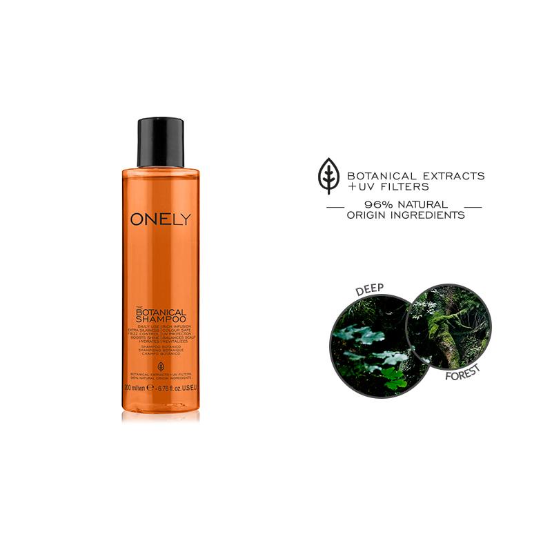 НАТУРАЛЕН ШАМПОАН 10в1 FarmaVita ONELY Botanical Shampoo  200ML