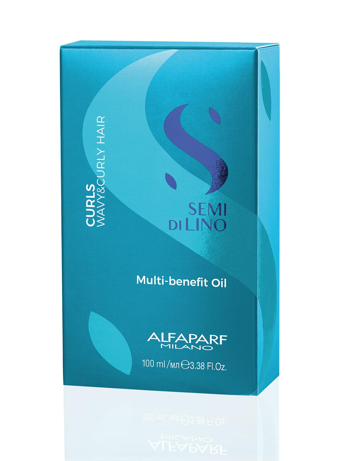 МУЛТИФУНКЦИОНАЛНО МАСЛО ЗА КЪДРАВА КОСА Alfaparf Curls Multi Benefit Oil 100ml