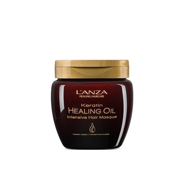 ЛУКСОЗНА МАСКА ЗА КОСА С КЕРАТИН LANZA Keratin Healing Oil Intensive Mask 210ml