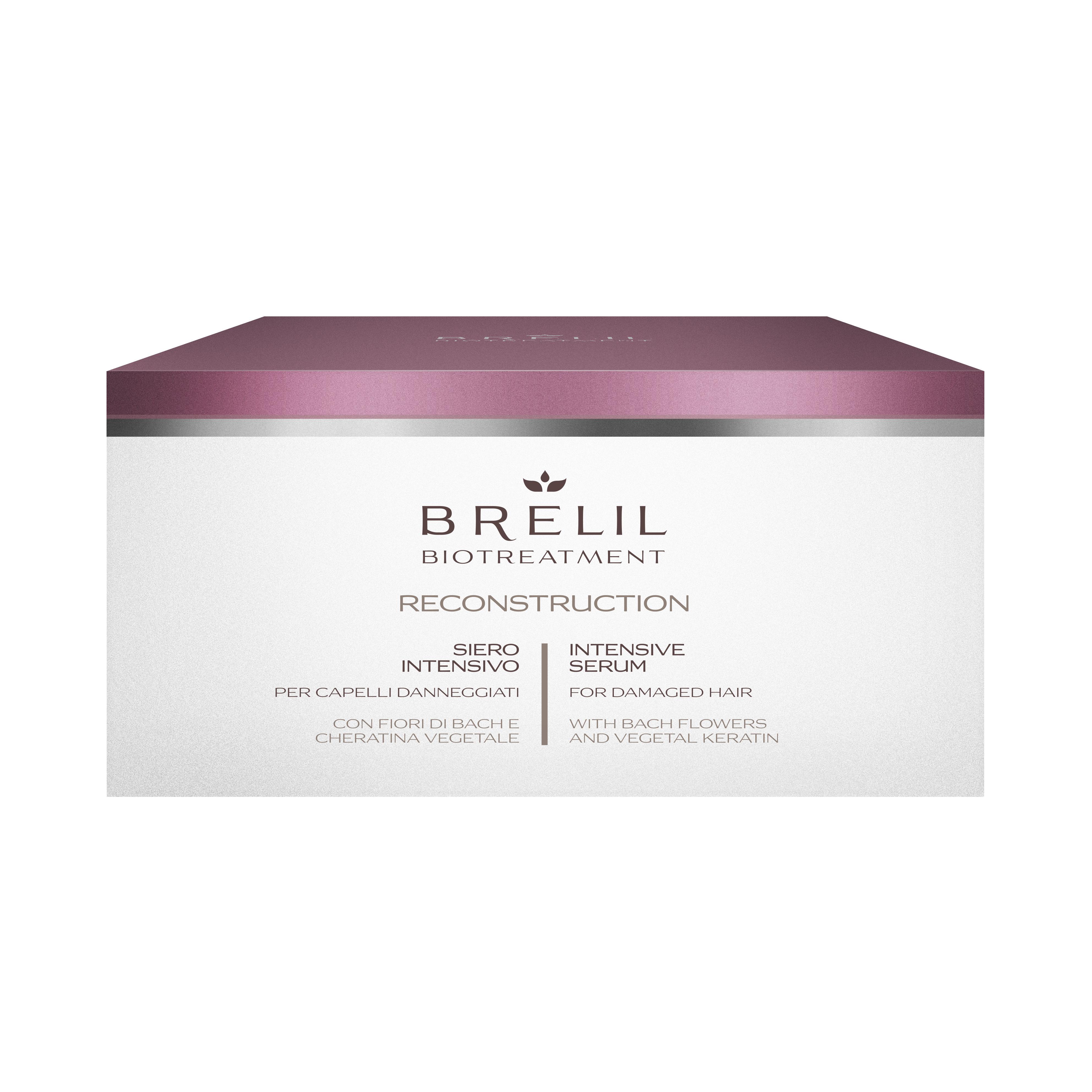 ИНТЕНЗИВЕН РЕСТРУКТУРИРАЩ СЕРУМ Brelil Biotreatment Reconstruction Serum 10x15 ml