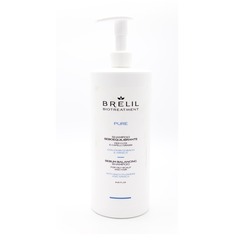 ШАМПОАН ЗА МАЗНА КОСА Brelil Pure Anti-Subum Shampoo 1000ml