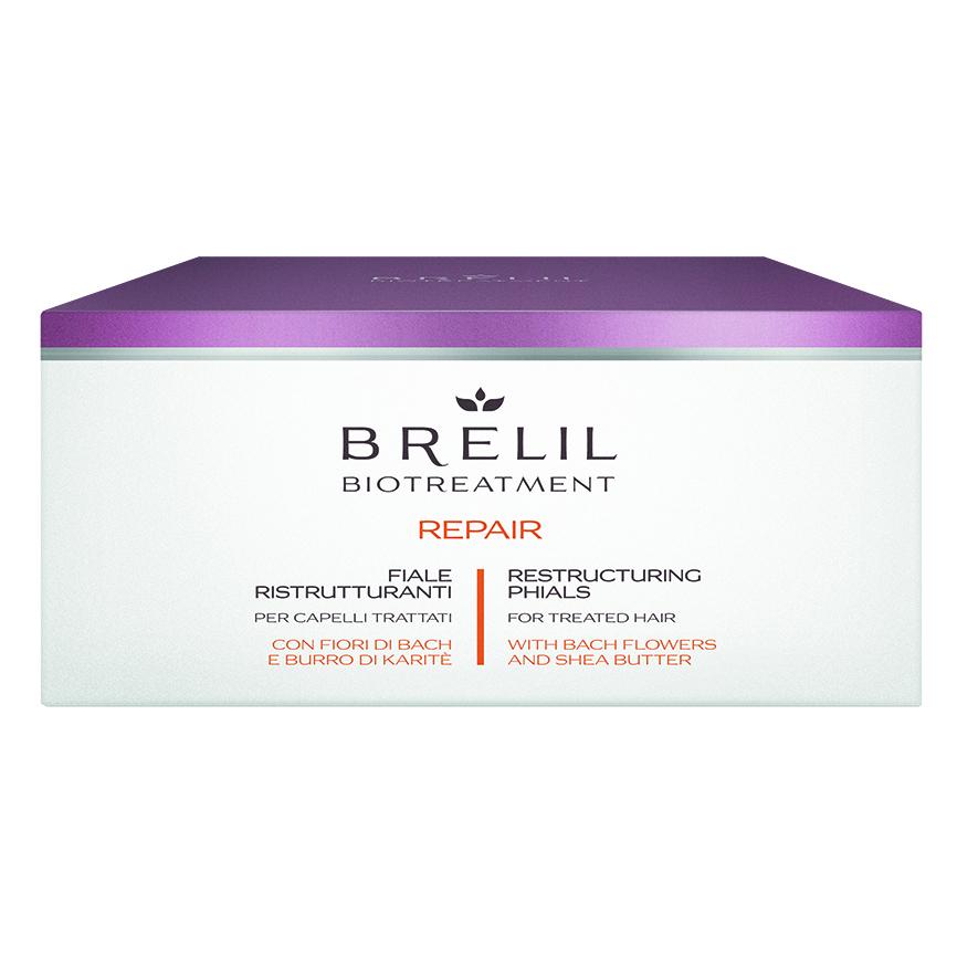 ДЪЛБОКО ВЪЗСТАНОВЯВАЩИ АМПУЛИ Brelil Biotreatment Repair Vials 12x10 ml