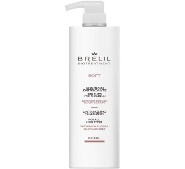 МЕК ШАМПОАН ЗА ЛЕСНО РАЗРЕСВАНЕ Brelil Biotreatment Soft Shampoo 1000ml