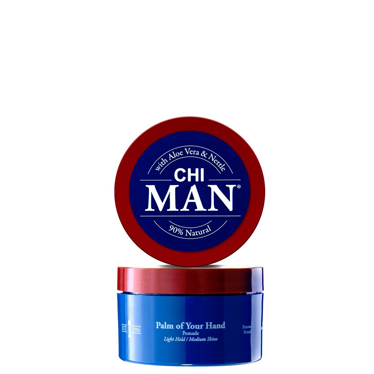 ПОМАДА ЗА КОСА С ЛЕКА ФИКСАЦИЯ CHI Man Palm of Your Hand Pomade 89ml