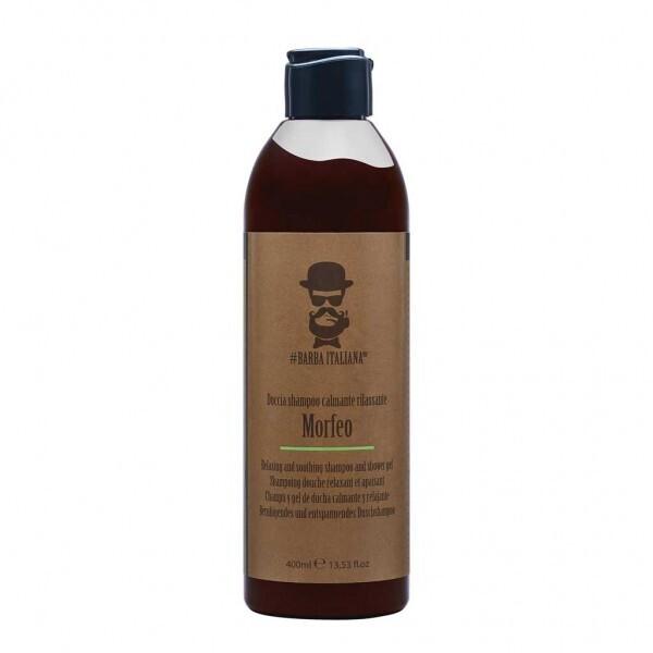 УСПОКОЯВАЩ ШАМПОАН И ДУШ ГЕЛ Barba Italiana MORFEO shampoo and shower gel 400ml