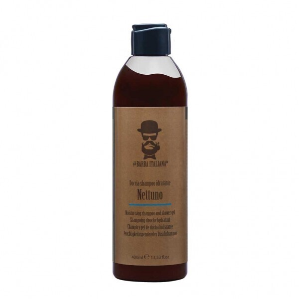 ХИДРАТИРАЩ ШАМПОАН И ДУШ ГЕЛ Barba Italiana NETTUNO shampoo and shower gel 400ml