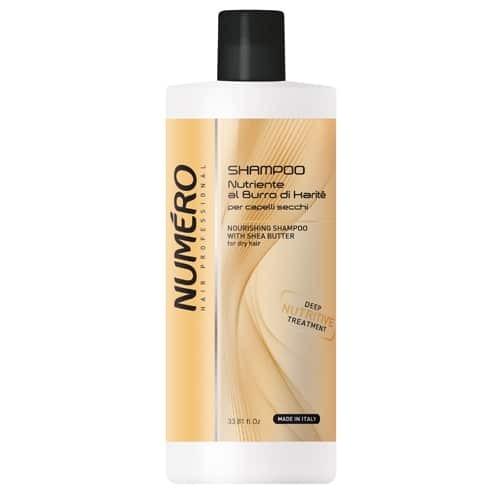 ПОДХРАНВАЩ ШАМПОАН С КАРИТЕ Brelil Numero Nourishing Shampoo 1000ml