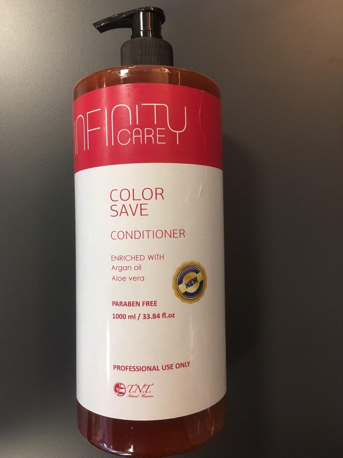 БАЛСАМ ЗА ЗАЩИТА НА ЦВЕТА ЗА БОЯДИСАНА КОСА Infinity Care Color Save Conditioner 1000ML