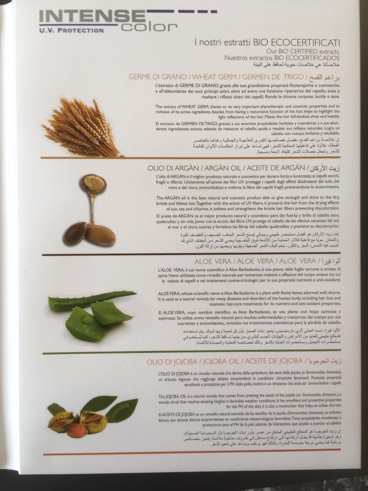 ПРОФЕСИОНАЛНА БОЯ ЗА КОСА НА БИЛКОВА ОСНОВА SAPHIR INTENZIVE COLOR 100ML
