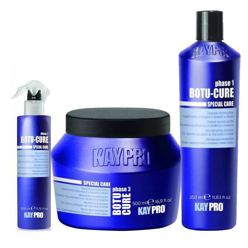 БОТОКС ШАМПОАН С ПЕПТИДИ Kay Pro Botu-Cure Special Care Shampoo 350ml