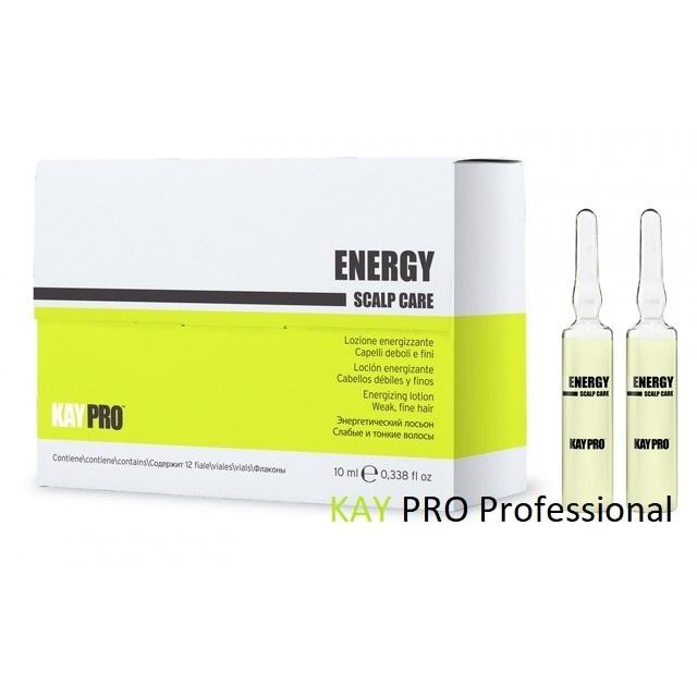 ЕНЕРГИЗИРАЩИ АМПУЛИ ПРОТИВ КОСОПАД Kay Pro Energy Lotion 12 x 10ml