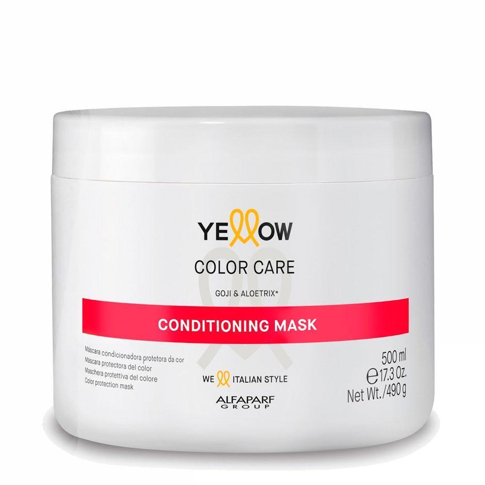 МАСКА ЗА БОЯДИСАНА КОСА С ГОДЖИ БЕРИ Alfaparf YELLOW Color Care Mask 500ml