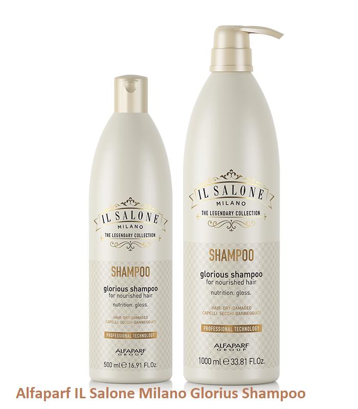 ШАМПОАН С МЛЕЧЕН ПРОТЕИН И БАМБУК Alfaparf IL Salone Milano Glorius Shampoo 500ml