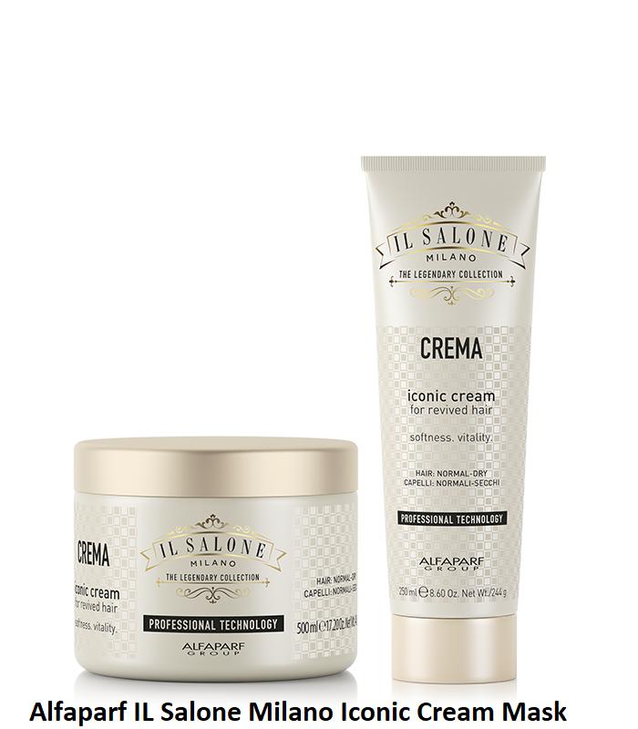 МАСКА С МЛЕЧЕН И ПШЕНИЧЕН ПРОТЕИН Alfaparf IL Salone Milano Iconic Cream Mask 250ml