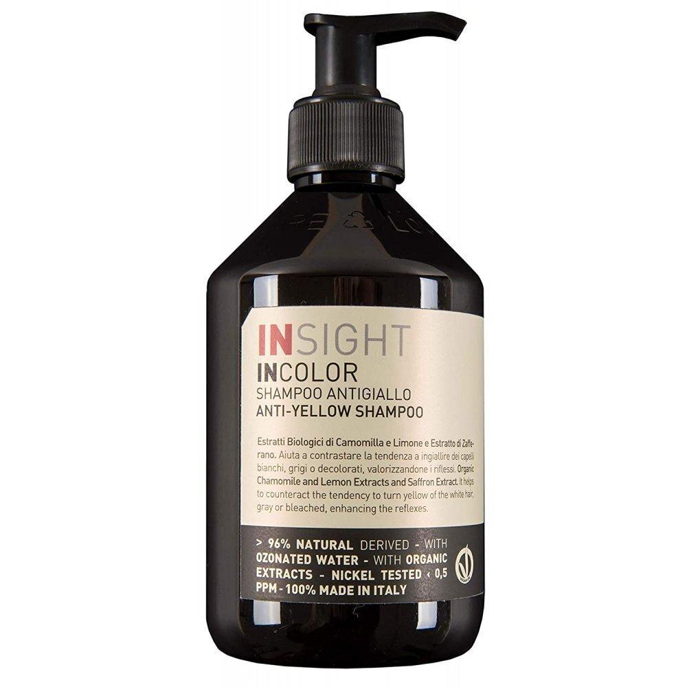 ШАМПОАН ПРОТИВ ЖЪЛТИ ОТТЕНЪЦИ НА КОСАТА Insight Anti Yellow Shampoo 400ml